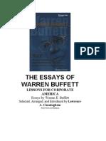 Баффетт У.Эссе об инвестициях,корпоративных финансах и управлении компаниями