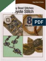 b&b - Easy Bead Stitches Peyote Stitch