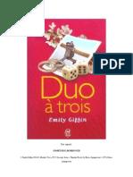 Duo a Trois - Emily Giffin