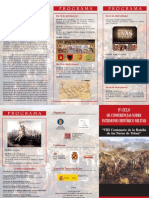 IV Ciclo de conferencias sobre patrimonio histórico militar