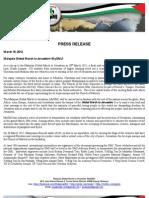 Mayalsia Press Release