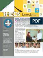 Sheds Newsletter July Dec 2011