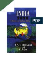 India 2020 Kalam