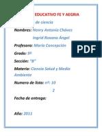 Complejo Educativo Fe y Alegria _ Ingrid