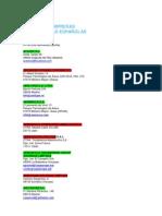 Empresas AERO España