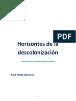 Horizontes de La Descolonizacion