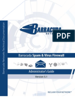 Barracuda Spam & Virus Firewall 5.1 AG US