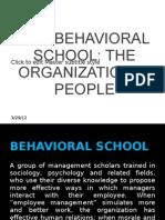The Behavioral School