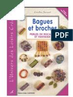 Bagues Et Broches (Perles de Rocaille Et Fantaisie