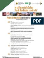 Programma Forum 30 Marzo 2012