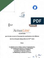 20110201-France-Copie de l'accord cadre pour un projet de numérisation et de diffusion des livres français indisponibles du XXème siècle-FR