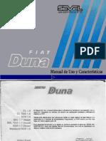 Manual Fiat Duna SCR 95