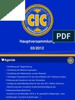 Powerpoint-Präsentation - Mitgliederversammlung 24.03.2012