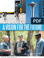 SPD 2020 -- Seattle Police Dept. Reform plan