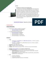 Requisitos Sistema AutoCAD 2013