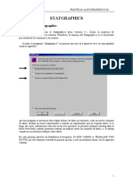 Instrucciones Statgraphics