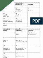 planificación jnbii