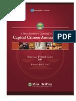 2011 Capital Crimes Annual Report