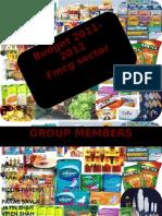 FMCG Budget 2011