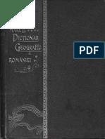 Marele Dictionar Geografic Al Romaniei Vol.02