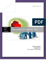 Concept of Social Security