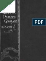 Marele Dictionar Geografic Al Romaniei Vol.03