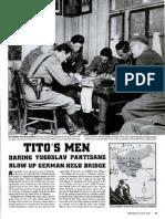 LIFE - Partizanski napad na most kod Litije 1944.