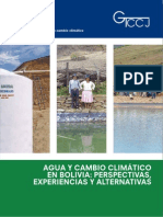 Revista Agua Cambio Climatico