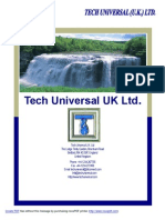 Tech Universal UK Pre-Qualification Updated
