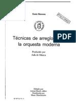 Enric Herrera.tecnicas de Arreglos