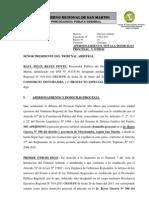 Escrito - A Persona Mien To Arbitraje (Consorcio Moyobamba - Peam)