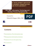MDI-IPM IT and BPR