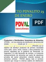Presentación PDVAL