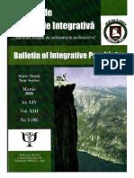 Buletin de Psihiatrie Integrativa-carte