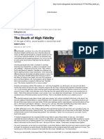 The Death of High Fidelity _ Rolling Stone