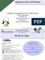 A linha de comando do Unix e GNU/Linux