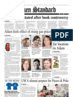 Aiken Standard - March 19 - Front Page