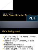 ITC Divercification