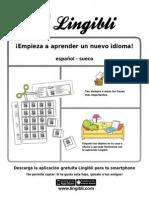 ¡Empieza a aprender! Español - Sueco