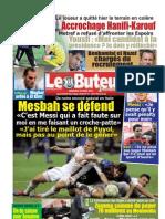 LE BUTEUR PDF du 30/03/2012
