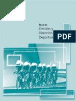 Gestion y Direccion Deportiva