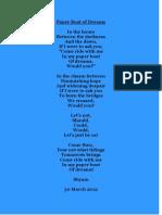 Paper Boat of Dreams