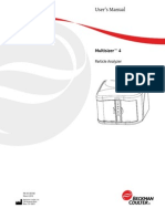 Multisizer 4 User Manual