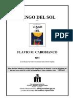 Vengo Del Sol - Flavio m. Cabobianco