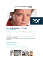 Breaking News - New Karin Slaughter TV Series