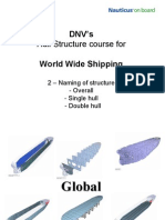 02 - DNVs Hull Str for WW - Naming of Structure