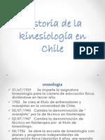 Historia de la kinesiología en Chile