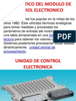 Diagnostico Del Modulo de Control Electronico