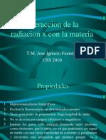4-Interaccion de La Radiaccion Con La Materia