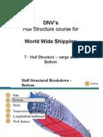 07 - DNVs Hull Str for WW - Hull Str - Cargo Area - Bottom